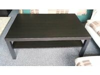 Ikea coffee table Hemnes