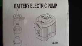 Battery Electric Pump