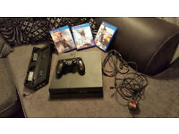 ps4 bundle 3 games cooler stand with chargers and all leads Playstation