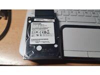 "750GB 2.5"" Sata HDD - Toshiba"