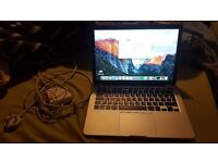 "Apple MacBook Pro Retina 2015 13"" 2.7ghz i5 8gb 128gb SSD Excellent Condition"