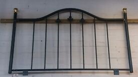 Headboard with fittings