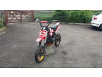 2 pit bikes for sale one stomp on licolon 4 stroke