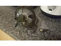 Small USB Desk Fan
