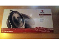 Unused original box of Focal PC 130 speakers
