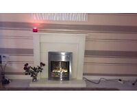 Beautiful fire and surround not a mark on it