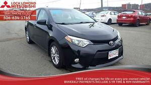 2014 Toyota Corolla LE ECO - LOADED only $138/BW