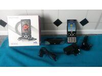 Sony Ericsson W995 mobile phone.