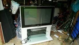 "Panasonic 42"" Plasma TV with stand"