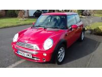MINI One, Chilli Red, Pepper Pack, Air Con, 1 owner