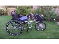 PDQ Powertrike & Liberty wheelchair