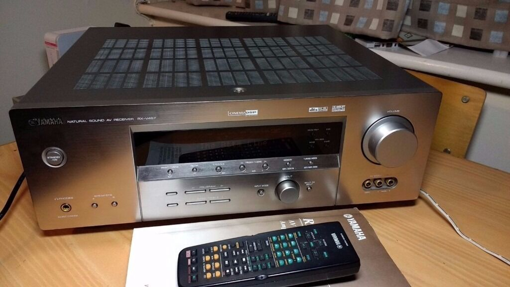 Yamaha rx v457 6 1 channel receiver in leeds west for Yamaha surround sound manual