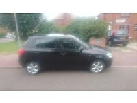 2008 BLACK SKODA FABIA FOR SALE [1.4 DIESEL/MANUAL]
