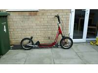 Barracuda Flatliner DS Down Hill Off Road Scooter BMX