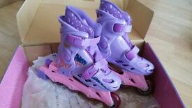 Girls BRATZ Inline Roller Blade Boots Size 12,13, 1 - BRAND NEW