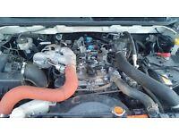 Isuzu 2.5twin turbo engine and box 2013