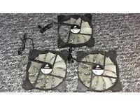Corsair Fans x3 Pc (A1425L12S-2 12V DC 0.30A)