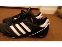 Adidas Kasier 5 Football Boots - Mens size 10.5 - soft ground / metal studs.