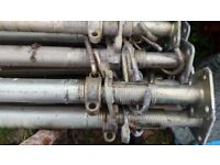SIZE 2 ACROW PROPS 2m-3.5m HEAVY DUTY GALVANISED 2500kg LOAD