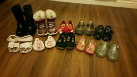 Girls shoes size 3 - 5