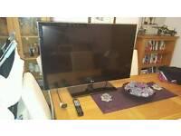 "LG 3D 42"" smart tv"