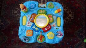 Winnie the pooh baby toddler activity play table