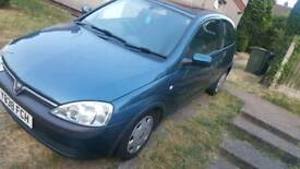 PARTLY STRIPPED CORSA 1.0LTR Corsa c y reg