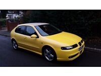 Seat Leon Cupra 1.8T 20v Turbo 2004 facelift model 6 speed box