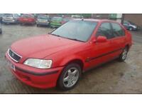 Honda Civic 5 door 1.4 petrol with mot , good runner,cheap car