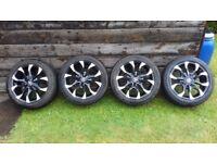 WOLFRACE ASSASSIN Alloys Alloy Wheels 16 inch Peugeot/Citroen/Ford/Toyota/VW/Vauxhall