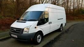 2012 61 Ford Transit T350L 115 EL LWB HR Jumbo Van No VAT