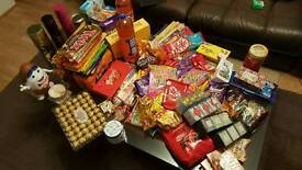 Sweets massive 31kg bundle RRP: £300++ TOBLERONE FERRERO LINDT KINDER TWIX BLACK TEA