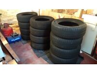 Used tyre sets X 3