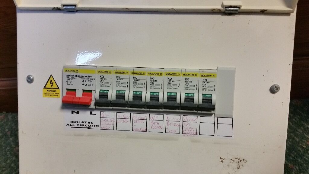 metal fusebox db for garage shed or loft in middlesbrough metal fusebox db for garage shed or loft