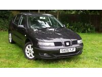 SEAT LEON 05 PLATE ++1.4 PETROL MANUAL ++ LONG MOT ++ IDEAL FIRST CAR++NOT VW, GOLF++