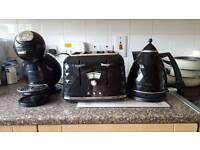 Kettle 4 slice toaster coffee machine