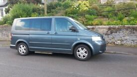 Wheelchair adapted Volkswagen Caravelle for sale on Isle of Bute