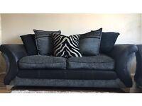 Dfs x2 sofas amazing condition