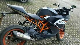 Ktm rc 125 reduced to £2350