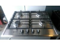 Neff T22S36N0GB 4 Burner Gas Hob In Stainless Steel