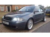 AUDI S3 QUATTRO (51PLATE) 6SPEED MANUAL TOP SPEC STUNING CAR, PX WELCOME BARGINE NEEDS TO GO ASAP