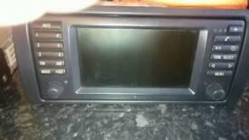 BMW X5 E53 stereo, sat nav,cd changer