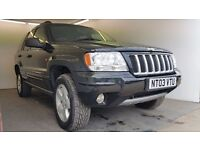 2003 | Jeep Grand Cherokee 2.7 CRD LTD | Auto | Diesel | 3 Former Keepers | 1 Year MOT | HPI clear