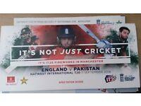 England v Pakistan T20 Tickets @ Old trafford