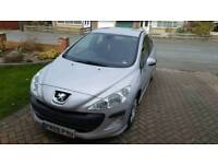 Peugeot 308 1.4vti (low mileage)