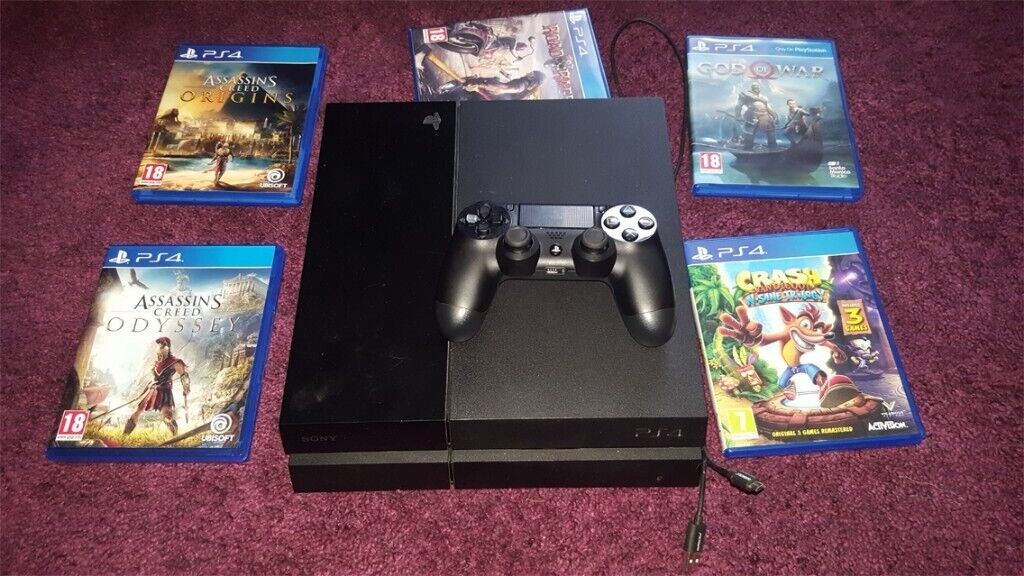 Playstation 4/Ps4 with 5 games and controller  | in Stanley, County Durham  | Gumtree