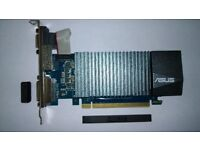 ASUS Geforce 710 1GB Graphics card only ever used once.