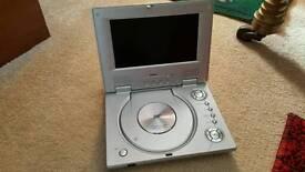 "D.V.D 7"" wide-screen.portable player"