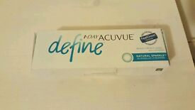 Contact lenses define acuvue