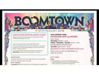 Boomtown Fair Ticket